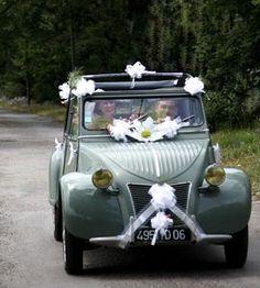 Deco 2cv mariage