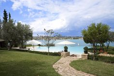 Huge pool & direct beach access at Porto Heli Bay villa, Greece