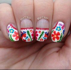 Mexican Nails ❤
