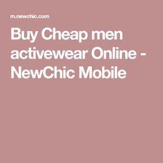 Buy Cheap men activewear Online - NewChic Mobile