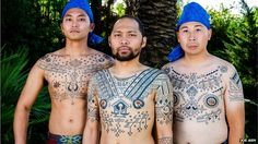 Reviving the art of Filipino tribal tattoos - BBC News