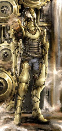Steampunk Thingy by ~Galathyna
