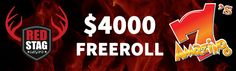 Red Stag Casino  $4000 Summer Freeroll