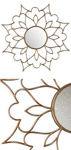 Mandala wall mirror // love this design