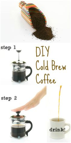 Don't waste your money on big coffee chains - make your own Step by Step Cold Brew Coffee from The Easy Vegan Cookbook!