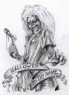 iron maiden eddie | Iron Maiden Eddie | Dravens Historias de la cripta Definitely getting this tattoo