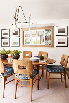 Hollywood at Home How to Marry a Millionaire Side Chairs upholstered with Peter Dunham textiles Zanibar fabric  http://www.hollywoodathome.com/collections/seating/products/how-to-marry-a-millionaire-side-chair