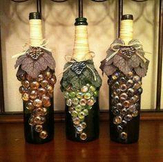 Ideas for the Reuse or Repurposing of Wine Bottles