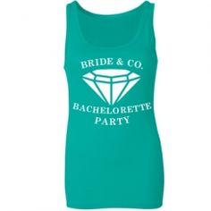 Bachelorette Party Shirts...haha my wedding theme & colors!