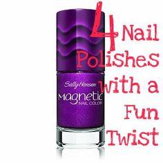 4 Nail Polishes with a Fun Twist
