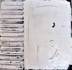 #Original #Abstract #Painting #Encaustic #MixedMedia #White #Art #Wax #Texture