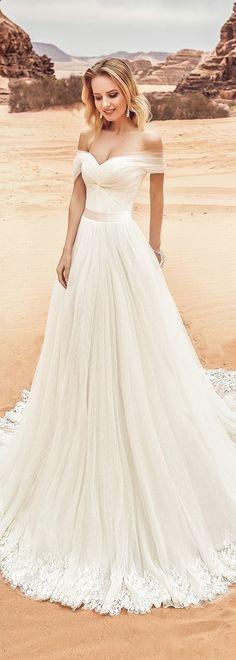 # Bridal Dresses # Elegant # Off Shoulder 28 Elegant Off-the-Shoulder Wedding Dress . Top Wedding Dresses, Bridal Dresses, Lace Wedding, Mermaid Wedding, Modest Wedding, Trendy Wedding, Wedding Skirt, Wedding Beach, Summer Wedding