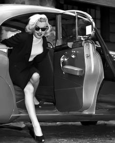 Marilyn Monroe Car : marilyn, monroe, Marilyn's, Ideas, Marilyn,, Marilyn, Monroe,, Marylin, Monroe