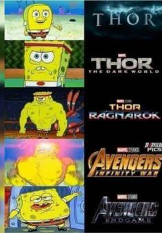 Marvel Jokes, Funny Marvel Memes, Avengers Memes, Funny Memes, Top Memes, Marvel Comics, The Avengers, Loki, Thor
