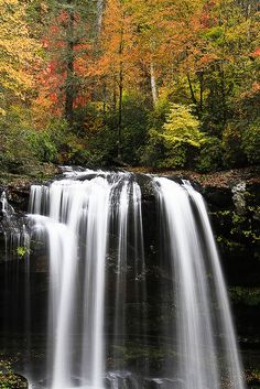 Dry Falls near Highlands North Carolina.
