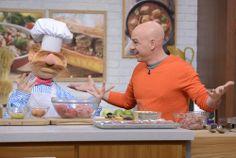 The Muppets' Swedish Chef helping Michael Symon make Swedish Meatballs! #TheChew