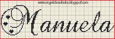 Ângela Bordados: nomes com M
