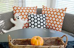 Tatertots and Jello- Make Pillow Covers in 4 Easy Steps