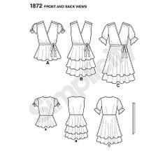 Buy Simplicity Cynthia Rowley Dresses Dressmaking Leaflet, 1872 Online at johnlewis.com