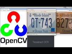 License Plate Recognition with OpenCV 2 : OCR License Plate Recognition - In this tutorial I show how to applyl the Tesseract - Optical Character Recognition (OCR) in a License Plate Recognition application.