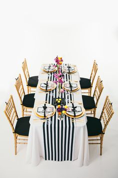Wedding Reception Ideas  what if we do all rectangle tables?  I love this setting.. with small pink arrangements.