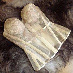 SPARKLEWREN BRIDE bespoke bridal gown with by sparklewren on Etsy