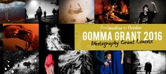 GOMMA PHOTOGRAPHY GRANT 2016.  The independent photo contest with an edge and with a renonwed international jury - the d...