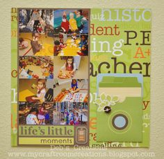 Becky Higgins School Expansion kit, Pages With Papertrey