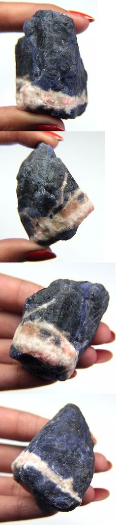 Sodalite 69179: Ultimate 404.33 Ct. Blue White Sodalite Slices Rough Mineral Specimen -> BUY IT NOW ONLY: $35.99 on eBay!
