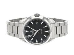 OMEGA, Seamaster (150m/500ft), Aqua Terra, Cal 4564, Serial no. 92419106, PIC no. 231.10.39.60.06.001, Ref no. ST 396.1118, Case no. 196.1118, unisex, 38,5 mm, steel, quartz, sapphire crystal, date, original bracelet, folding clasp, Ref no. 1587/986, certificate, September 2017, case, paper box. #watches #omega #aquaterra