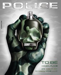 To Be Camouflage Police cologne - a new fragrance for men 2015