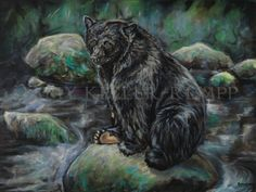 """Serenity"", by acrylic on canvas. Original still available, very popular in giclee prints and fine art cards. Modern Impressionism, Art Cards, Serenity, Giclee Print, Amy, Lion Sculpture, Vibrant, Fine Art, Statue"