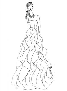 93 best fashion illustration images fashion artwork fashion Nike Clothes fall 2013 collection sketch ivy aster brides wedding dress illustrations