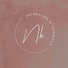 Logo Discover Logo décoratrice dintérieur Minimal Logo Design, Design Logo, Branding Design, Watermark Design, Design Typography, Logo Design Trends, Creative Logo, Inspiration Logo Design, Restaurant Logo