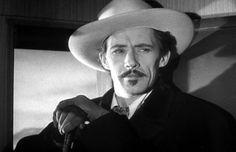 John Carradine in STAGECOACH (1939).