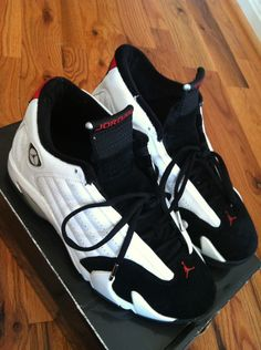 "Air Jordan 14 ""black toe"""