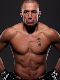 One of my fave MMA men, GSP