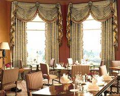 CHATEAU CHARDONNAY - Swag Valance and Panels Set - RoomsBeautiful.com