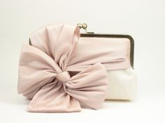Bridal Clutch / Wedding Clutch / Bridesmaid by DavieandChiyo, $68.00