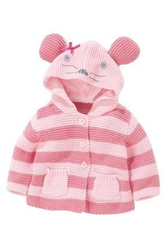 Mouse Cardigan (0-18mths) from the Next UK online shop