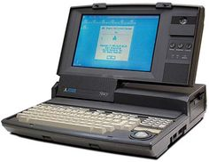 Atari Stacy computer
