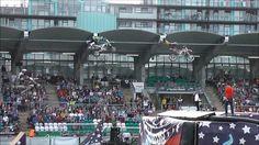 Nitro Circus Live Tallaght Stadium Dublin Sat 11 Jun 2016 12 riders jumping The train Nitro Circus, Dublin, Offroad, Trucks, Motocross, Times Square, Landrover, Street View, Wrangler Tj