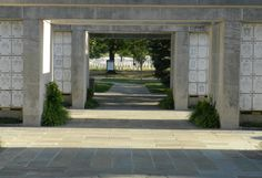 The Columbarium at Arlington National Cemetery - my father was interred here July 26, 2011.