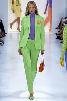 Ralph Lauren Spring 2004 Ready-to-Wear Fashion Show - Julia Stegner, Ralph Lauren