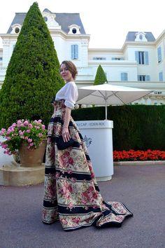 Ulyana Sergeenko at Cannes