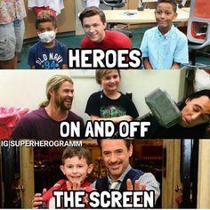 I love my heroes