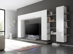 Line 2-7 Wall Unit by LC Mobili Italy - $1,599.00