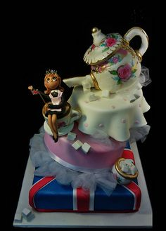 580650120 royal british monarchy artisic creative cake art celebration cake by www.creativecakea..., via Flickr