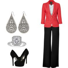 Office Outfit, created by leah-alfaro on Polyvore