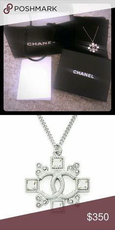 Chanel pendant necklace Never been worn pendant necklace. I was given this as a gift through work but unfortunately it's  not my style and I will never wear it. CHANEL Jewelry Necklaces
